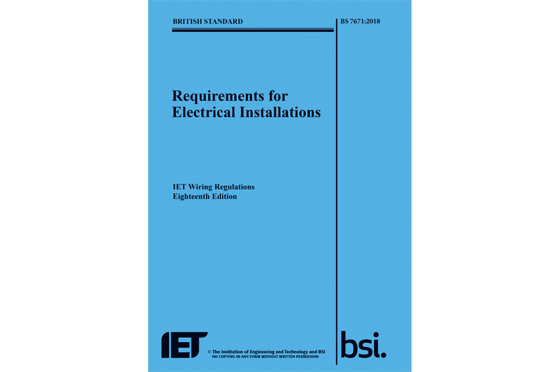 changes in the 18th edition iet wiring regulations